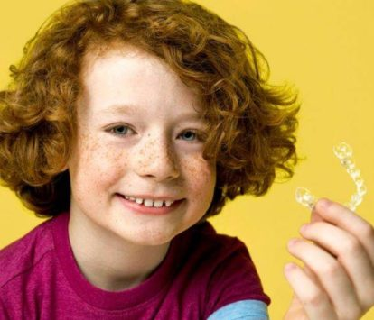 Clear aligners versus young children